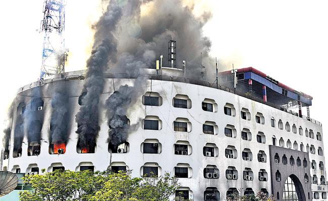 Fire Accidents in Hyderabad - Sakshi