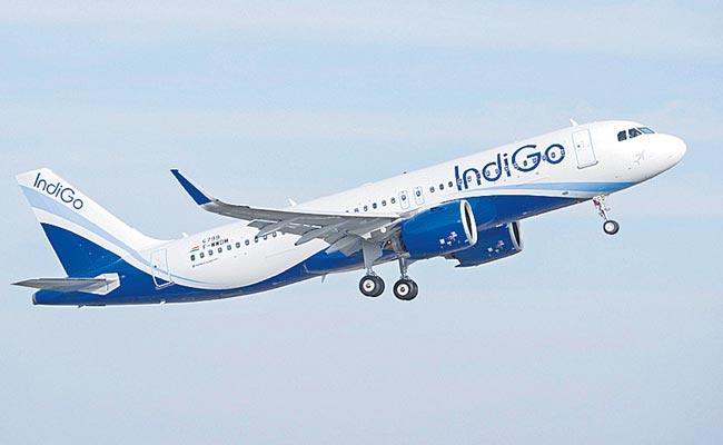 IndiGo Q3 profit  75 percent to Rs 191 crore on high fuel prices - Sakshi