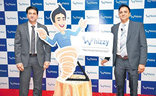 Whizzy for all types of delivery services - Sakshi
