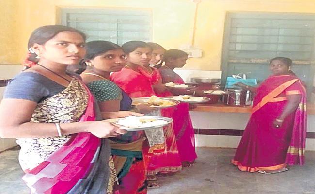 Biometric System Implements In Anganwadi Centers  Medak - Sakshi