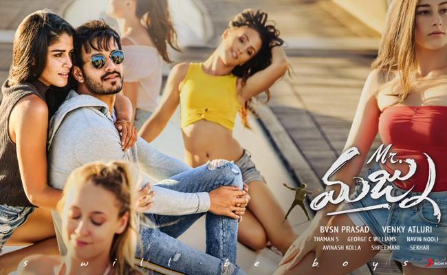 Akhil Akkineni Mr Majnu Telugu Movie Review - Sakshi