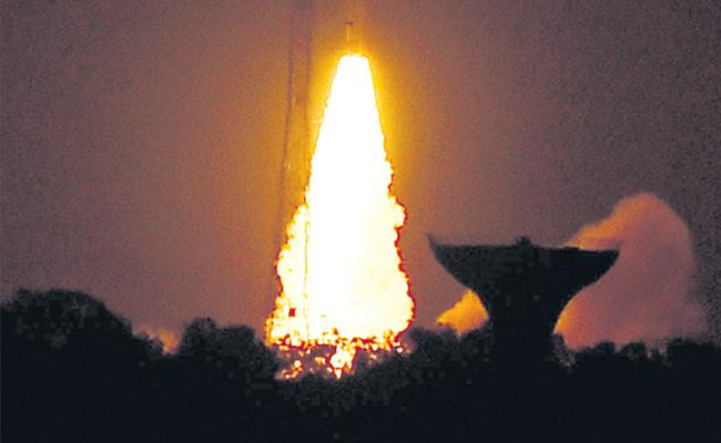 ISRO tastes first success of 2019 - Sakshi