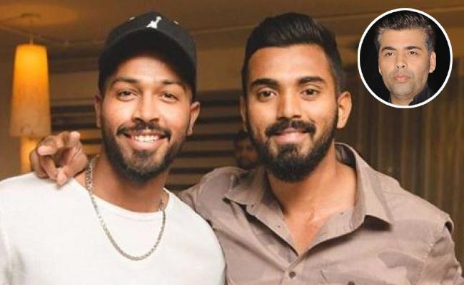 Hardik And Rahul Apologised Says Koffee With Karan Host Karan Johar - Sakshi