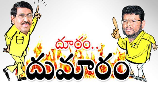 Nellore Mayor Fire On Minister Narayana - Sakshi