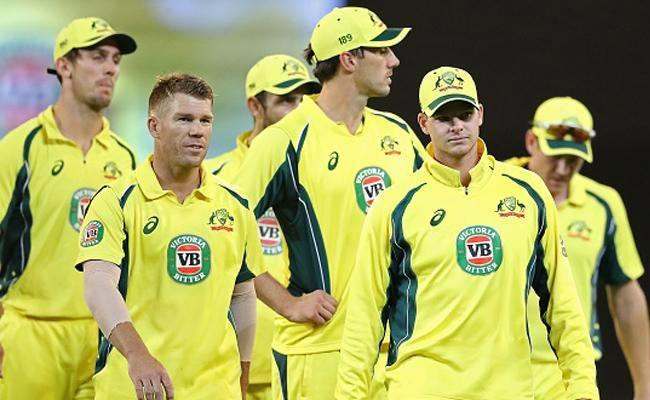 Richardson and Cummins Put Australia in Charge Against Sri Lanka - Sakshi