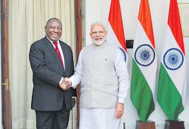 India is now second largest trading partner of South Africa - Sakshi