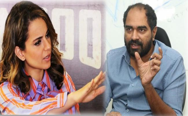 Director Krish Comments on Manikarnika - Sakshi