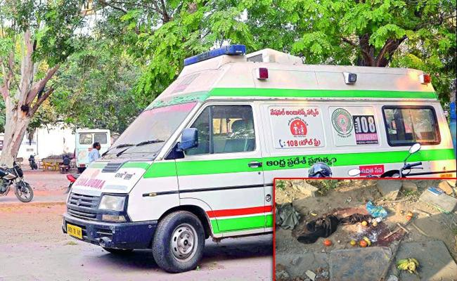 Girl Died Due To 108 Vehicles Not Available In Guntur - Sakshi