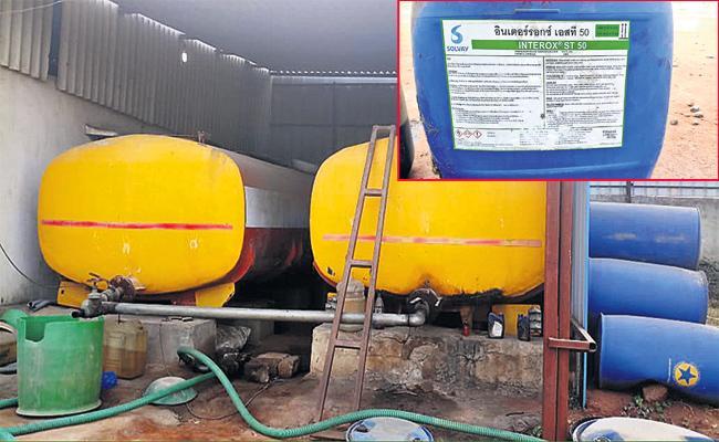 Kerosene And Diesel Smuggling in Hyderabad - Sakshi