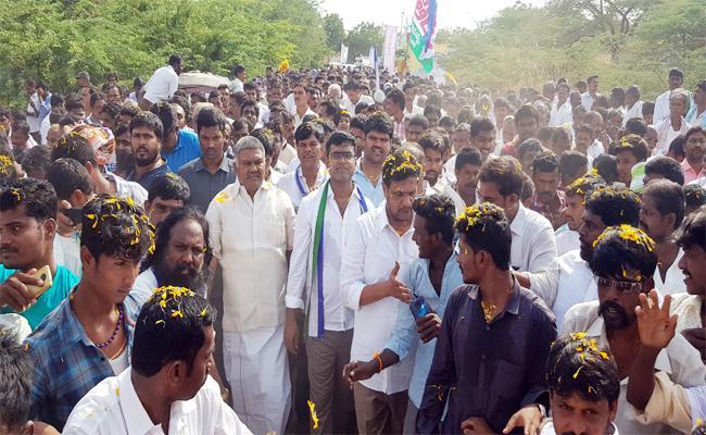 YSRCP Kethireddy Pedda Reddy Rally in Anantapur - Sakshi
