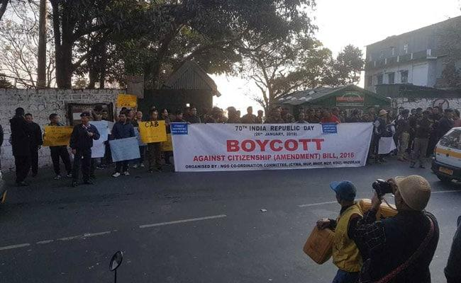 Northeast Boycott Republic Day Events Over Citizenship Bill - Sakshi