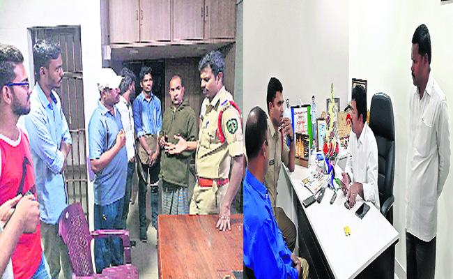 YSRCP Leaders Voters Deleted TDP Fake Survey Visakhapatnam - Sakshi