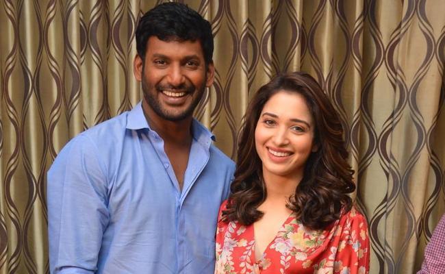 Tamannaah to Team up With Vishal Again - Sakshi
