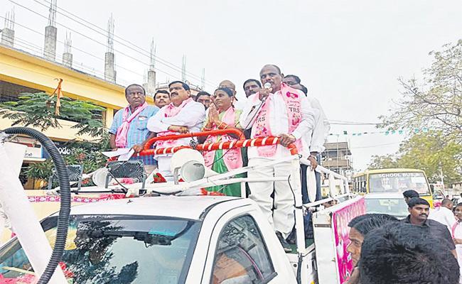 Telangana Panchayat Election Campaign Last Rangareddy - Sakshi
