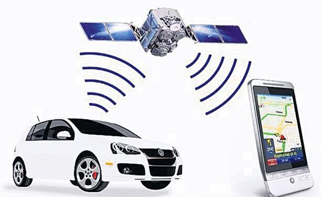Now GPS Trackers in Own Vehicles - Sakshi