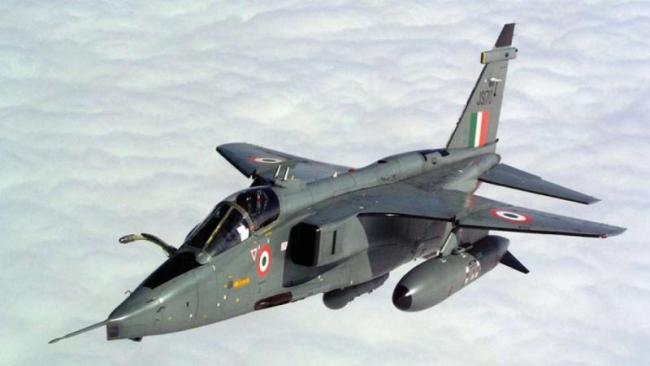 Jaguar fighter plane crashes in UP's Kushinagar - Sakshi