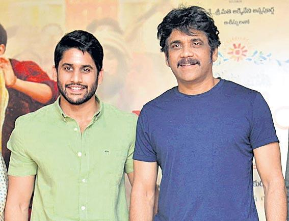 Nagarjuna and Naga Chaitanya to share screen space in SoggadeChinni Nayana - Sakshi