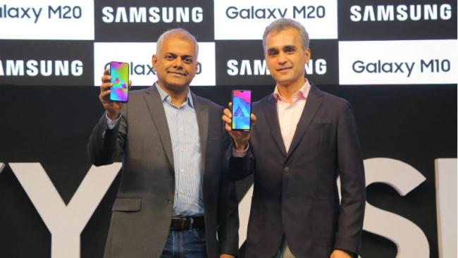 Samsung Galaxy M Series mobiles  Launched in India  - Sakshi