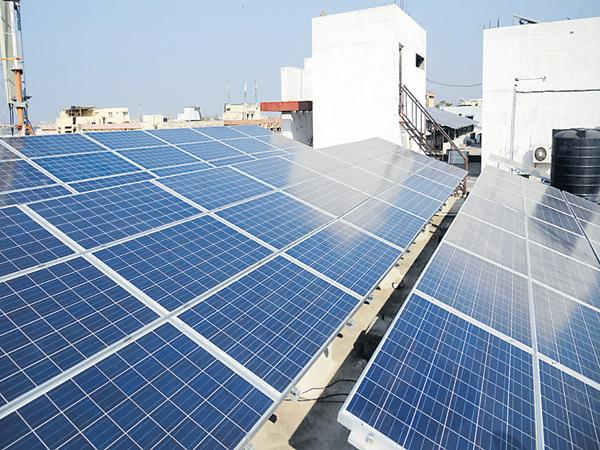 Solar Plants in all bus stands by March 31 - Sakshi