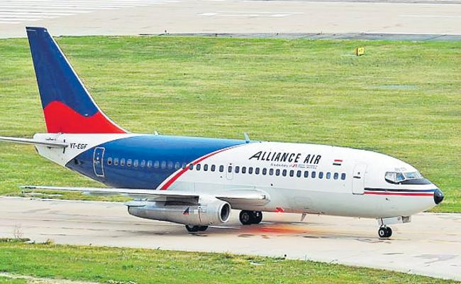Alliance Air to connect Ahmedabad with Hyderabad via Nashik from February 1 - Sakshi