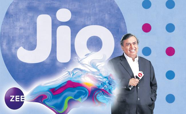 Reliance Jio likely to buy stake in Subhash Chandras Zee Entertainment, says report - Sakshi