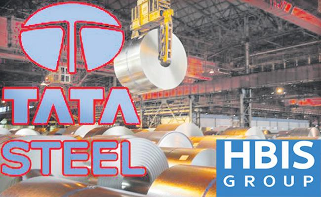 Tata Steels key deal with HBIS Group - Sakshi