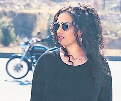 Nithya Menon Highway Shoot Pic Goes Viral on social media - Sakshi