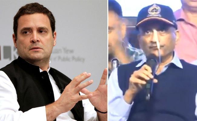 Rahul Gandhi Meets Ailing Manohar Parrikar - Sakshi