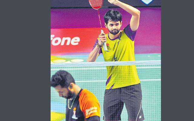 Premier Badminton League (PBL) 2018: Delhi Dashers vs Bengaluru Raptors  - Sakshi