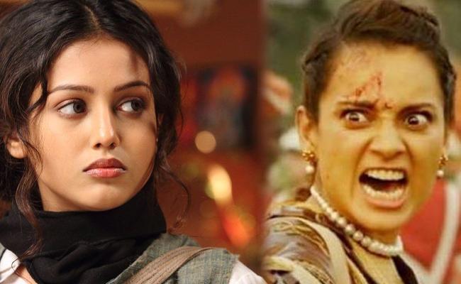 Mishti Chakraborty Expressed her Shock at Watching the Manikarnika Final Film - Sakshi