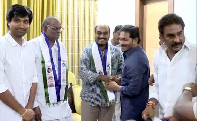 Gurajala TDP Leaders Joins YSRCP - Sakshi