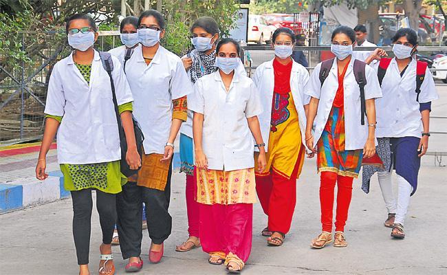 Temperatures Down in Hyderabad - Sakshi