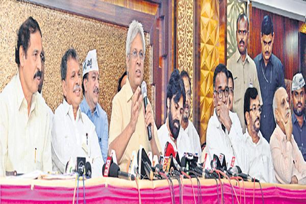 All parties should join together Says Undavalli Aruna Kumar - Sakshi