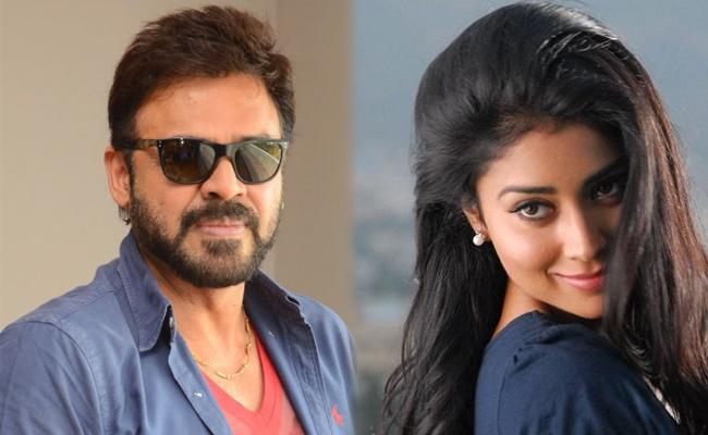 Shriya Saran May Act Venkatesh Venky Mama Movie - Sakshi