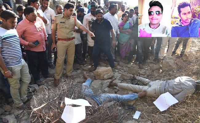 Bike Accident  Two Members Died Adilabad - Sakshi