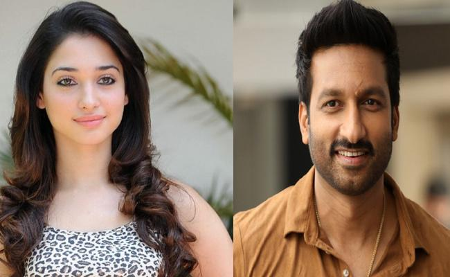 Tamanna May Act In Gopichand And Thiru Movie - Sakshi