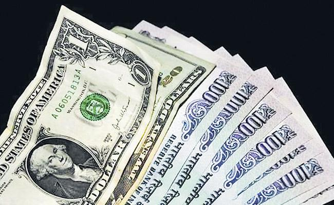 Indian Rupee Drops 44 Paise to Hit New Low of 73 - Sakshi