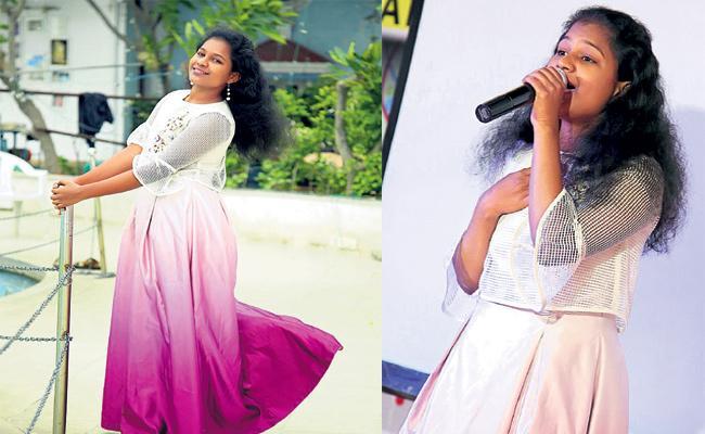 Private Album Singer Geetha Special Story - Sakshi