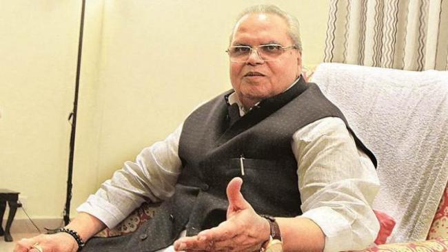 Satya Pal Malik Says Deaths In Patna In A Day Equals Deaths  In Kashmir In A Week   - Sakshi