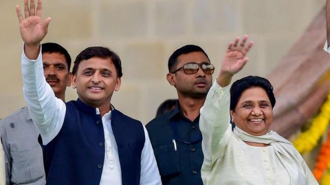 Mayawati Stands Behind Akhilesh Yadav As CBI Probe Looms Large - Sakshi