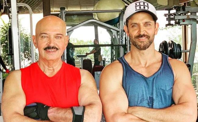 Hrithik Roshan Father Rakesh Roshan Diagnosed with Early Stage Cancer - Sakshi