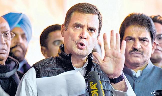 Govt strategy to weaken, destroy HAL, says Rahul Gandhi ... - Sakshi