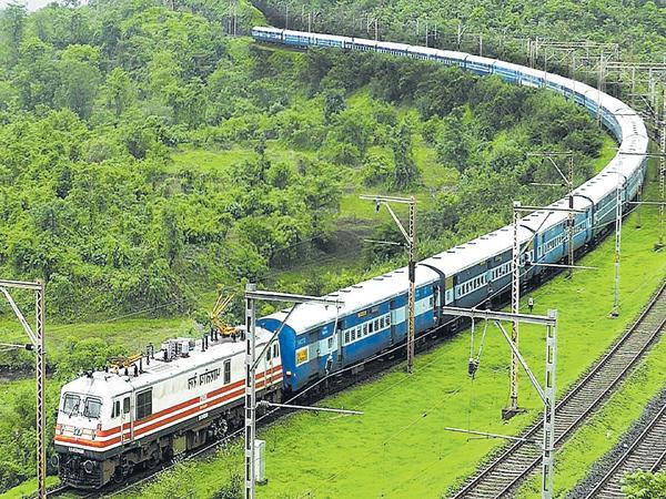 Train travel is more secure - Sakshi