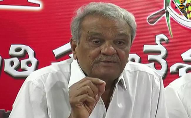 CPI Narayana Comment On Ten Percentage Reservation To EBC - Sakshi