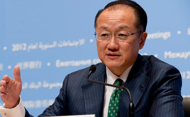 World Bank President Jim Yong Kim Resigns - Sakshi