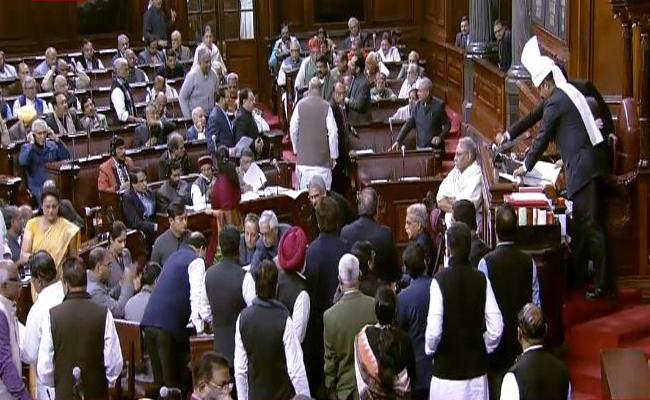 EBC Bill Introduced In Rajya Sabha By Thawar Chand Gehlot - Sakshi