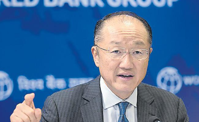 World Bank president Jim Yong Kim to step down - Sakshi