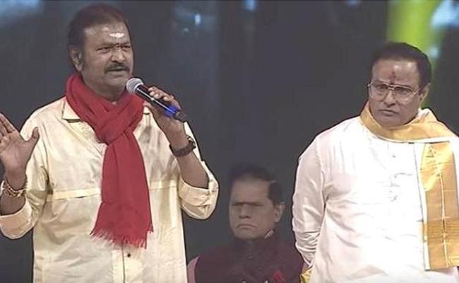 Mohan Babu Wishes To NTR Biopic Cinema - Sakshi