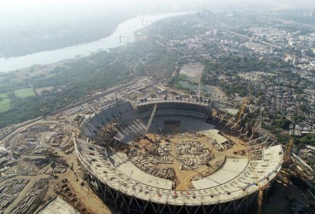 The Motera Stadium in Ahmedabad Will Become the World Largest Stadium - Sakshi