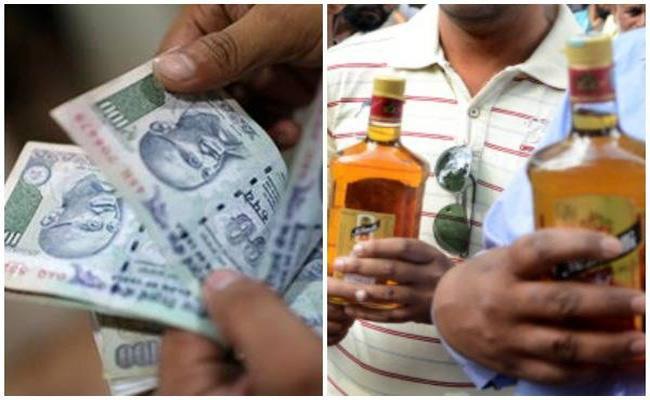 Telangana Panchayat Election Full Money Distribution - Sakshi